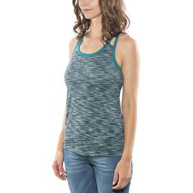 Rab Maze - Camisa sin mangas Mujer - Azul petróleo
